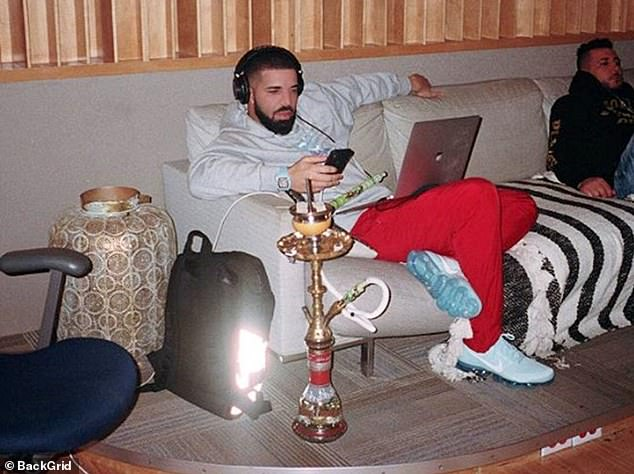 Chemists discovered the water in hookah creates ultrafine particles which are able to reach the deepest parts of the lungs. The Canadian rapper Drake is thought to be a fan of shisha smoking after he was snapped on Instagram indulging in a hookah pipe