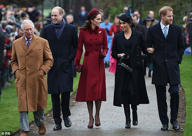 Last year royal insiders said that there has been no falling out between the Cambridges and the Sussexes, but admitted the pair are 'very different people'