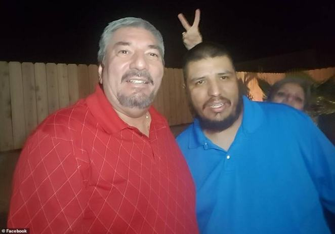 Jorge Calvillo (left) was one of the first people killed in the shooting when Crusius opened fire on a group of people raising money for his granddaughter Emily's soccer team