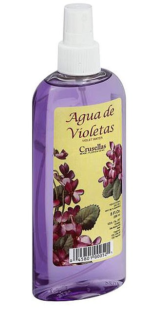 A seven-year-old girl participating in the study has often been exposed to Violet's Mi Tesoro Agua (pictured) from an early age.