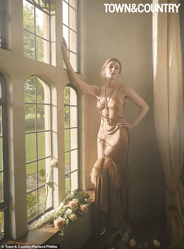Open: Downton Abbey star Laura Carmichael has admitted that she was close to quitting acting before assuming the role of Lady Edith Crawley when she spoke with Town and Country