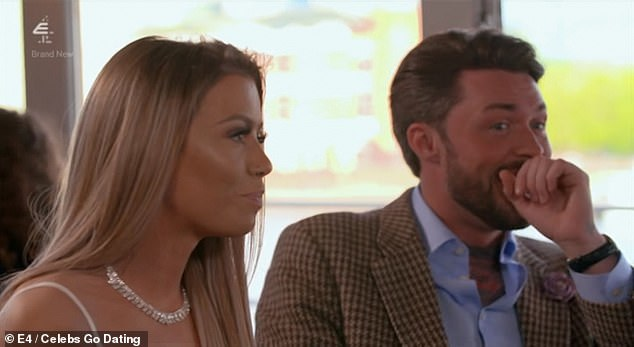 Celebs Go Dating Chloe Sims Scolds Her Date For Giving Their First Meeting 7 10 Daily Mail Online