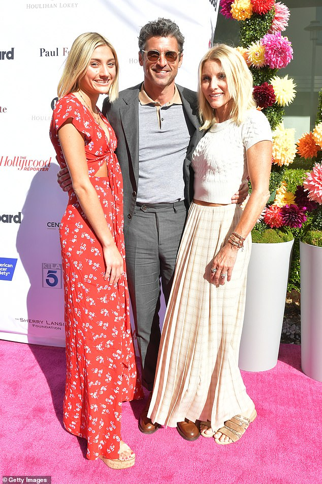 Patrick Dempsey Joined By Wife Jillian Fink And Daughter Tallula At