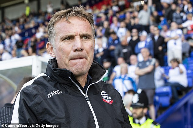 Phil Parkinson expressed his concerns over the welfare of the players at the weekend
