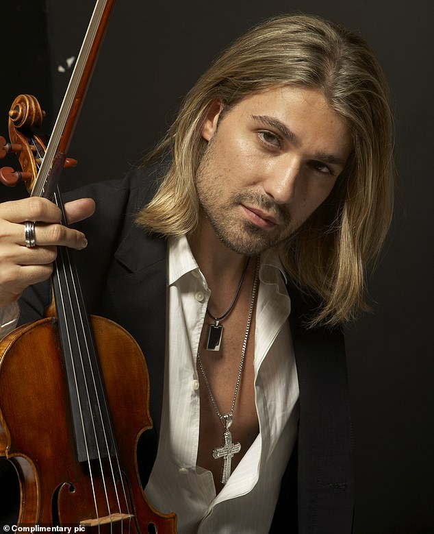Researchers found that there was no significant difference in the amount of practice time put in by the best-ranked violinists and those considered only 'good'. Pictured, popular and classical violinist David Garrett, who played historical virtuoso Niccolò Paganini in the 2013 film The Devil's Violinist