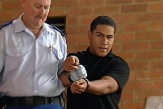 Corrective Services New South Wales officer Amy Connors admitted to the affair with prisoner Sione Penisini (pictured)