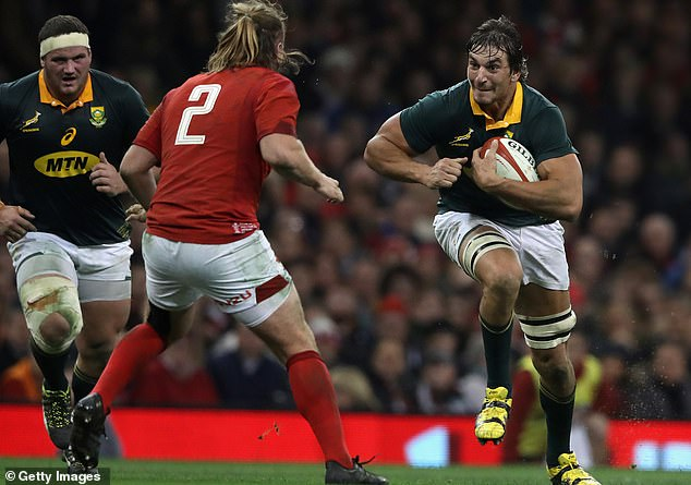 Eben Etzebeth is an enormous physical specimen in the engine room of South Africa's pack