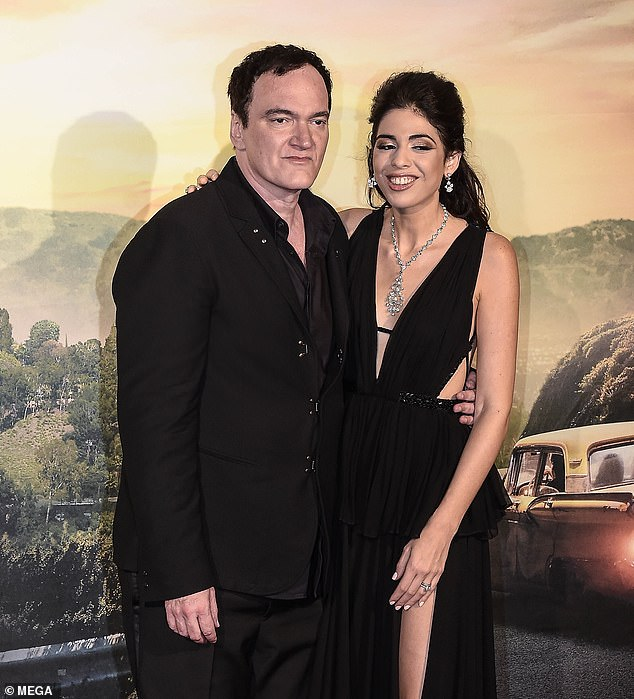 Congrats! Quentin Tarantino has announced his next big project - the 56-year-old director is expecting his first child with his wife Daniella Pick (pictured August 2)