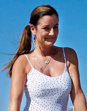 Bibya Tanya Lincoln, 38, from Lancashire, decided to have breast implants at the age of 28 (pictured, after her breast implants operation)
