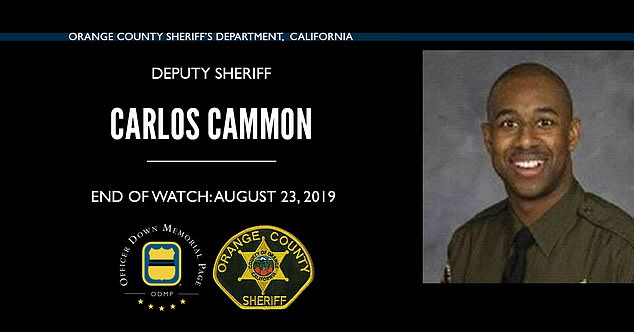 Cammon was 29 when he collapsed during the training exercise. Despite undergoing multiple surgeries, he never regained consciousness before he died