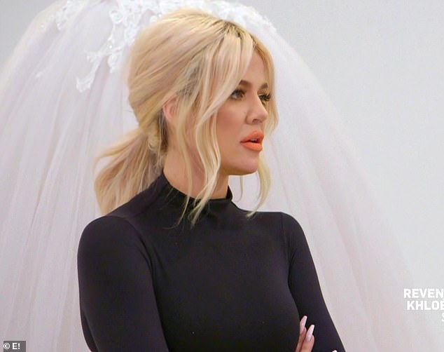 Wedding dress: Khloe set up Ariel with a wedding dress and fixed her teeth