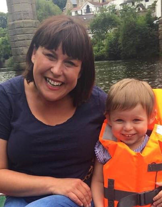 Caroline Day (left), mother of a three-year-old Connie who is struck down with Batten disease (right) told MailOnline how she fears a meeting tomorrow between officials and the drug manufacturer is just going to be a 'tick box exercise'