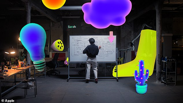 Apple has increasingly moved into augmented reality technology. In 2017, it launched AR Kit, an augmented reality platform for developers to create apps and other software using the tech.