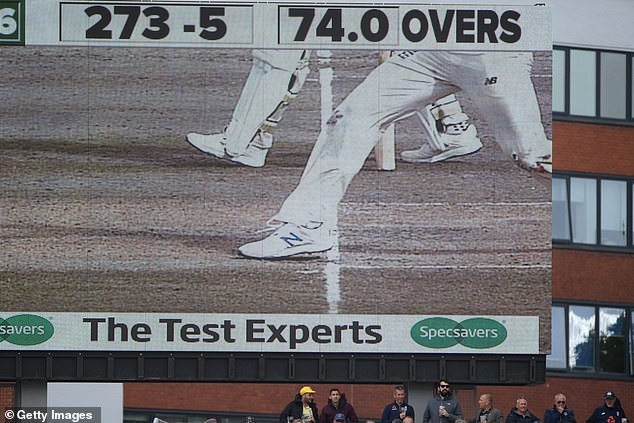 Leach dismissed Smith in Australia's first innings but had bowled a no ball in the process