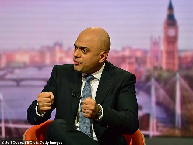 Last September, then chancellor Sajid Javid (pictured) told travellers to the EU they would be able to buy cigarettes and alcohol without paying any UK excise duties