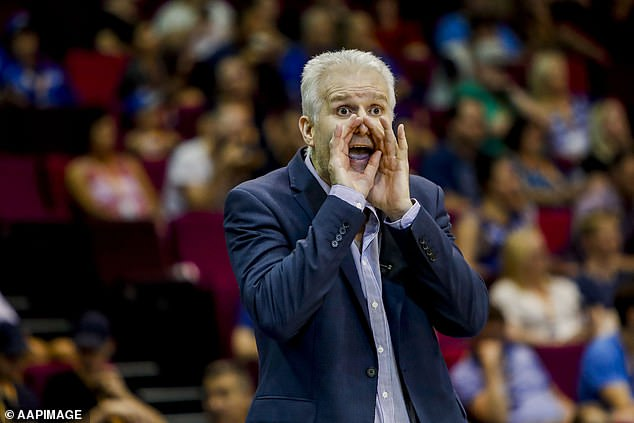 Former NBA star Andrew Gaze was part of the commentary team as USA took on Brazil at the FIBA Basketball World Cup in China on Monday night