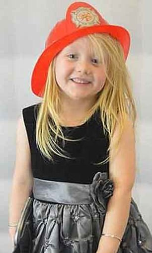 Alesha MacPhail (pictured) was snatched by Campbell from her grandparents' home and murdered