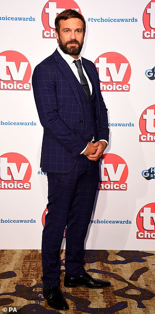 MailOnline has contacted representatives for Jamie Lomas, Asan N'Jie and the TV Choice Awards for comment