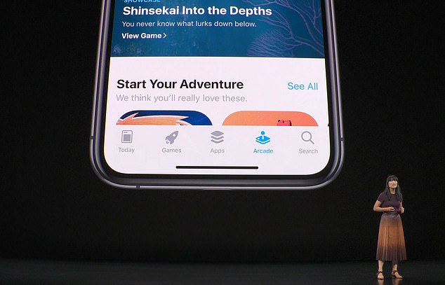 Apple kicked off the event with a look at its upcoming gaming service, Apple Arcade.Apple Arcade will exist as a new tab in the App Store, and subscribers will have unlimited access to its library, which will be continually updating