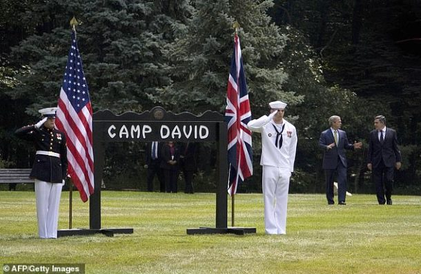 Camp David is the historic presidential retreat in the surrounding community of Thurmont, Maryland