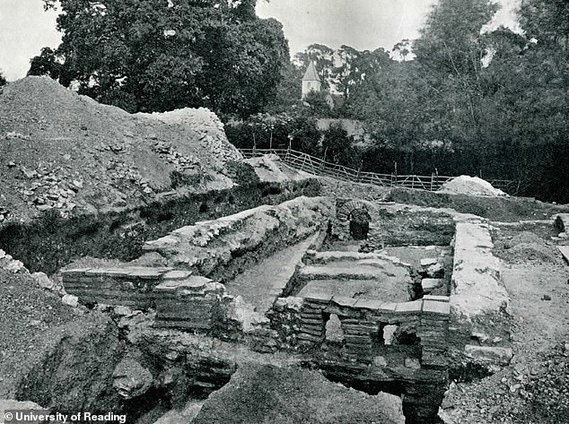 In light of the find, Reading's Professor Michael Fulford told the Times: 'Late Iron Age baths are ever a possibility'