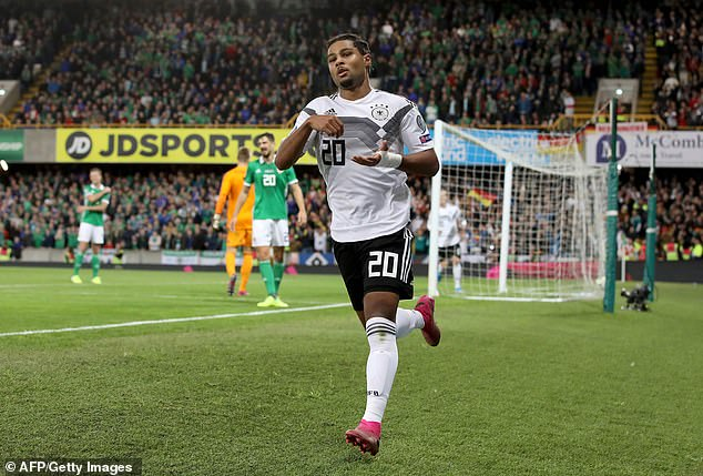 Gnabry has also become one of the main stars for 2014 World Cup winners Germany