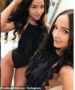 The Fakhteeva twins have about 28,000 followers on Instagram