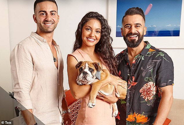 Last month Sarah Marie, 31, said her dog Bane has been even more protective towards her since she fell pregnant. The reality star told Nova FM Smallzy's Surgery, that her cute bulldog is protective, affectionate and cuddles with her regularly