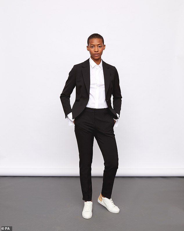 Jigsaw soon followed, releasing a tailored one-button jacket costing £199, and a pair of slim tapered trousers, retailing at £120