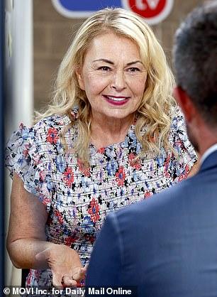 Roseanne talks to DailyMailTV