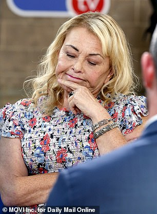 Comedian Roseanne Barr is sitting with Jesse hosts in California and nothing is out of the limits