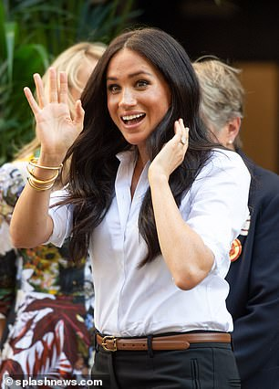 Meghan Markle's business manager said he had filed paperwork in the United States to keep her name, The Tig,.