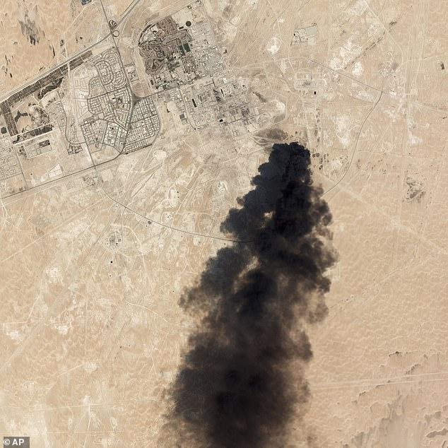 Saudi Arabia King Salman Abdelaziz Drone Aramco Buqyaq