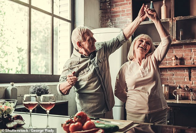 Being in a happy marriage slashes your risk of getting dementia by almost half, according to new research