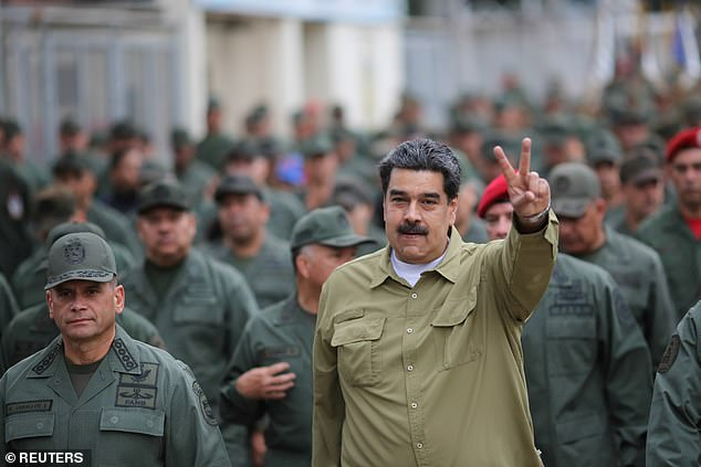 The Trump administration has been pressuring Cuba to drop its support for Venezuela's socialist president, Nicolas Maduro (seen above in Caracas in January)
