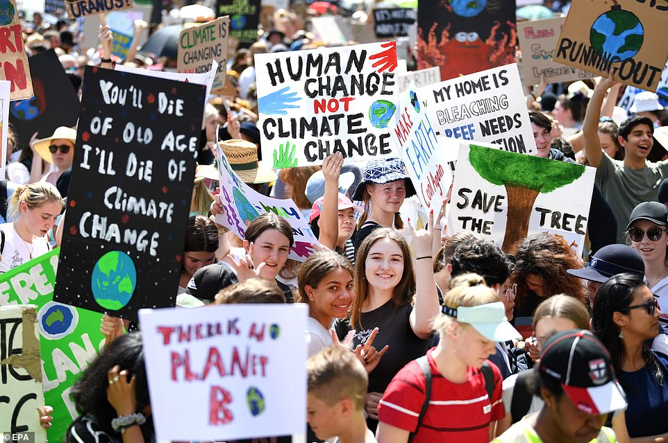 British Groups Expect Biggest Ever Youth Climate Protests