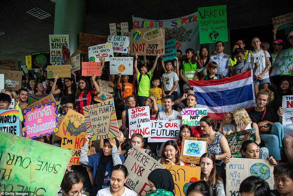 Climate Strikers In 'vulnerable' Thailand Call For Action