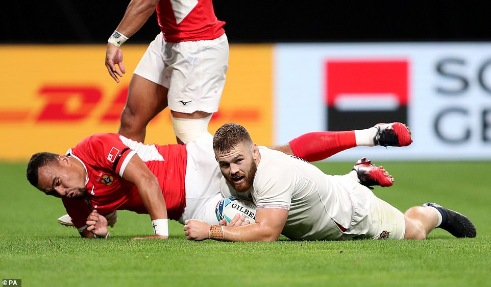 Rugby: England Give Squad Players A Runout Against United States Rugby