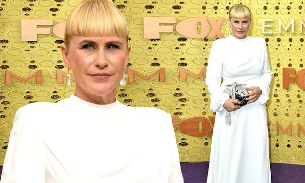 Patricia Arquette channels Princess Leia at Emmy Awards
