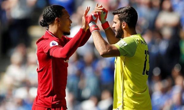 Liverpool stars van Dijk and Alisson included in FIFA