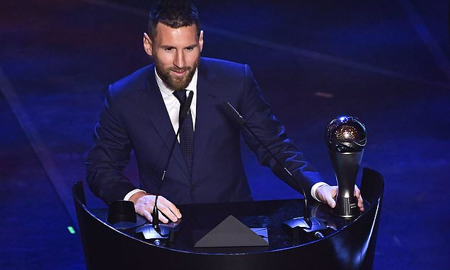 Messi beats Ronaldo to FIFA