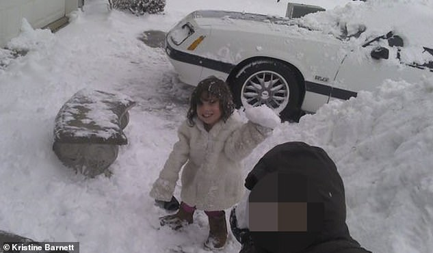 Pictured in December 2010, Natalia had an adult vocabulary. Kristine Barnett said, ¿At the time I ran a little school and I remember she said to me, these children are exhausting, I don't know how you do it.'