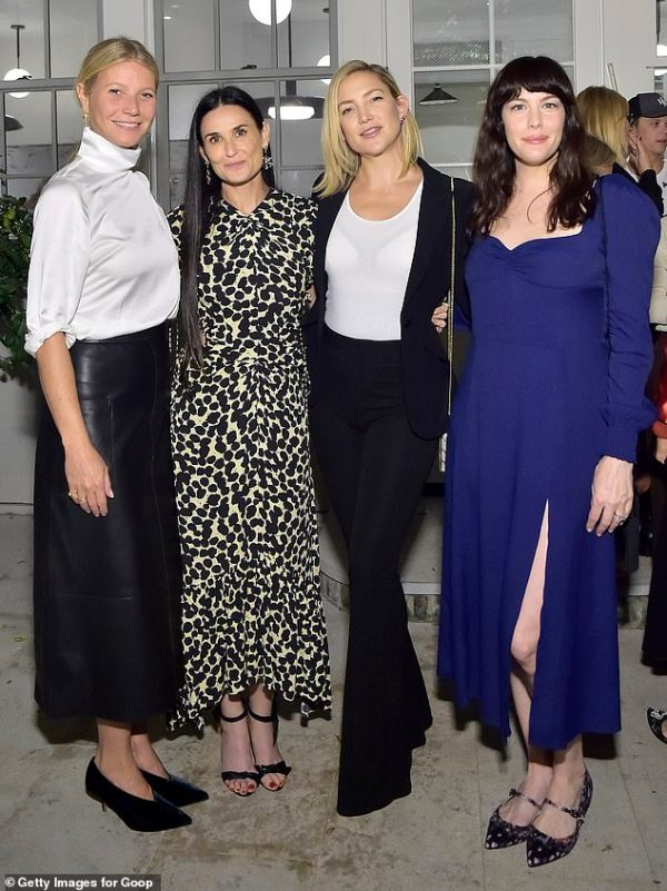 Gwyneth Paltrow, Kate Hudson, Liv Tyler join Demi Moore at book launch