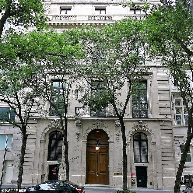 Kaufman claims she was invited to Epstein's mansion on the Upper East Side (pictured) for a 'modeling interview'