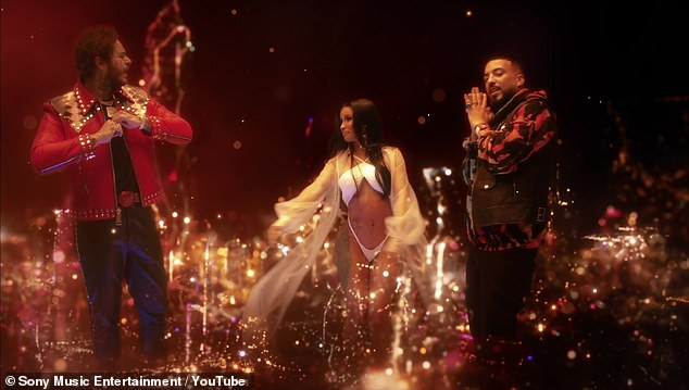 Collaboration: Post Malone joins Cardi B and French Montana for Writing On the Wall
