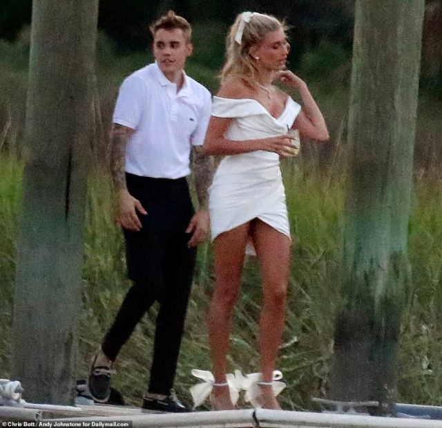 Image result for justin and hailey wedding