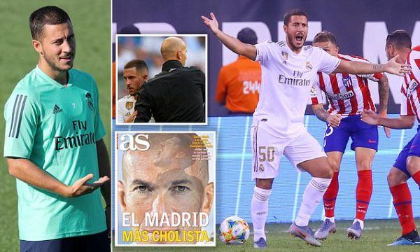 Real Madrid still waiting for Eden Hazard to turn up