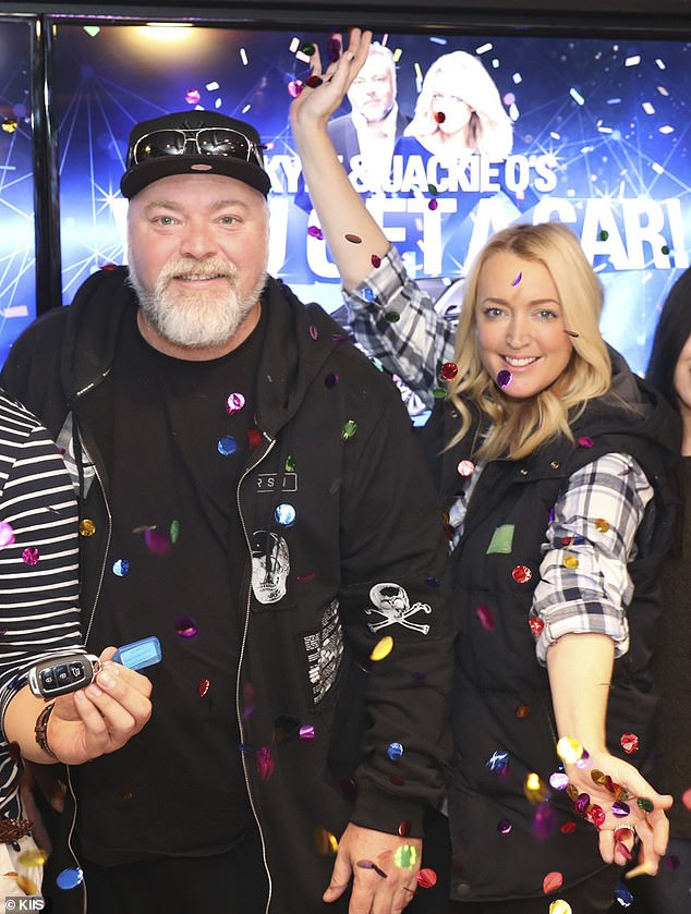 The closest a rival radio presenter got to the embattled broadcaster was KIIS FM duo Kyle and Jackie O who drew in an 11.6 per cent share of the market, Mumbrella reported