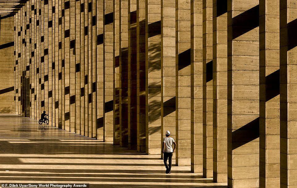 One of the categories in the open competition is street photography. This image by Turkish snapperF. Dilek Uyar of an archaeological museum in Turkey has been submitted to this category
