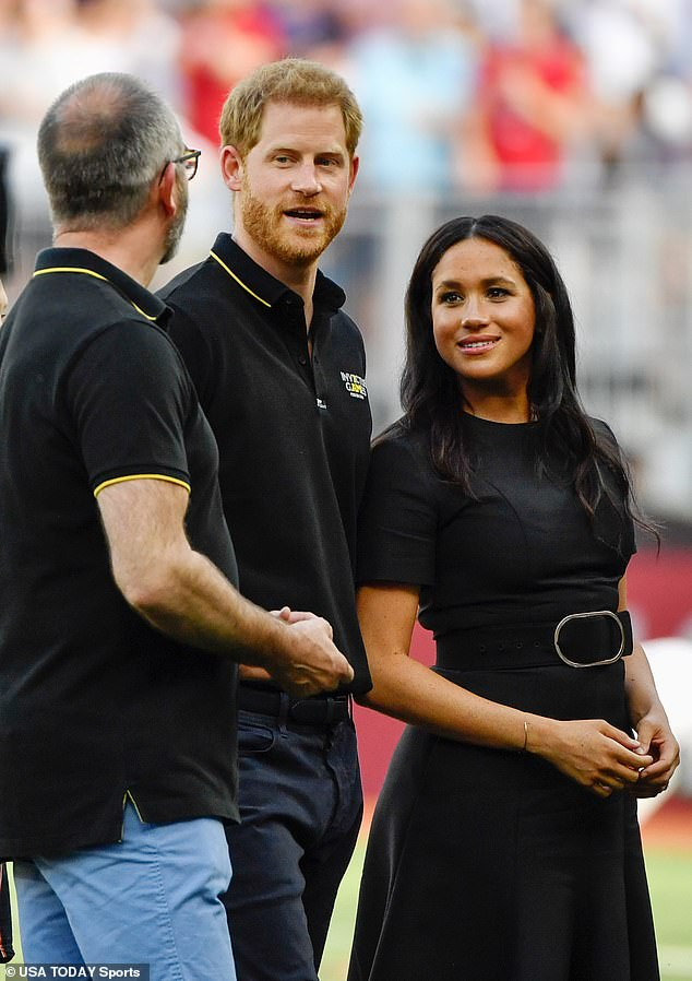 On June 29, 2019, the Duchess of Sussex attended a baseball game between the Boston Red Sox and the New York Yankees at London Stadium - and her hair didn't look quite as full